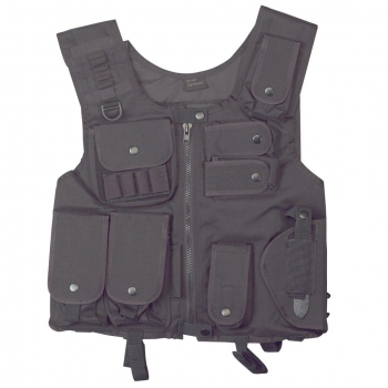 GILET TACTIQUE SWAT NOIR DEMONIAC